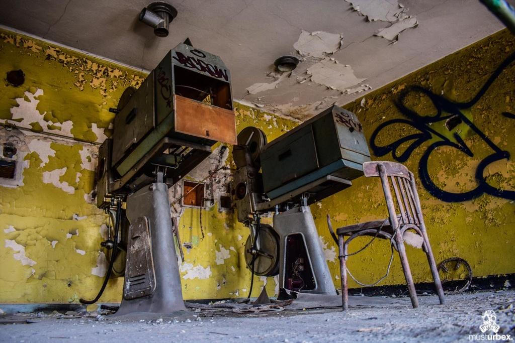 Urbex - Opuszczone kino Uciecha