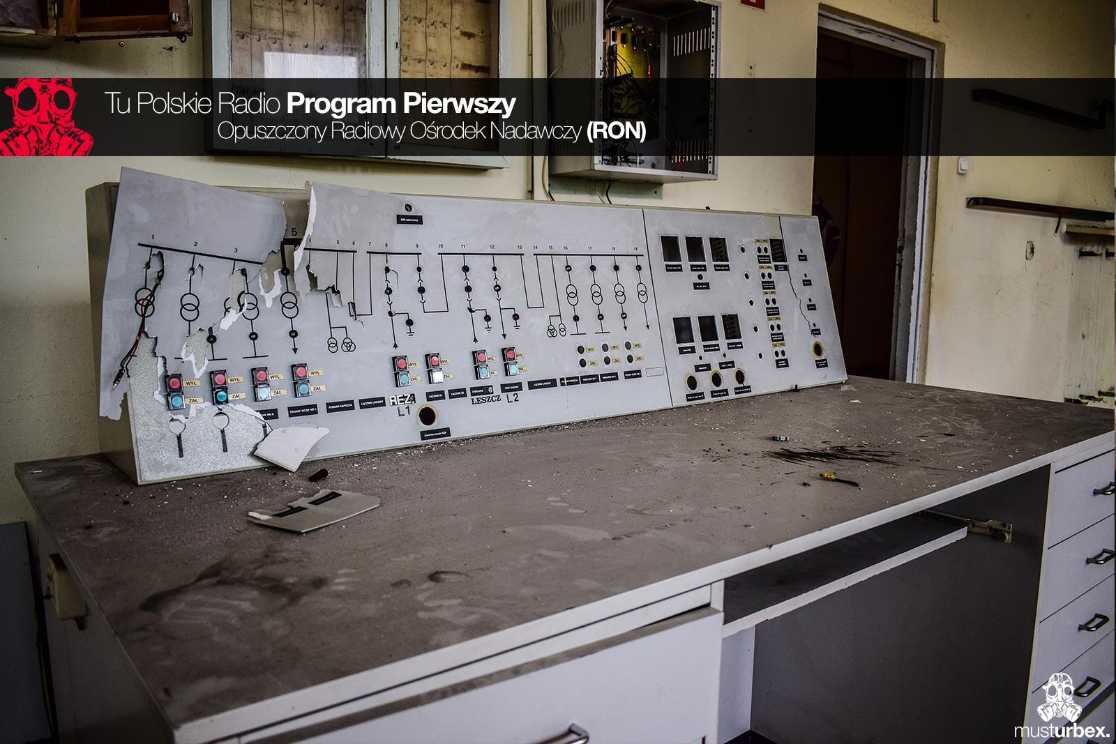 Urbex RON Opuszczony Radiowy Ośrodek Nadawczy