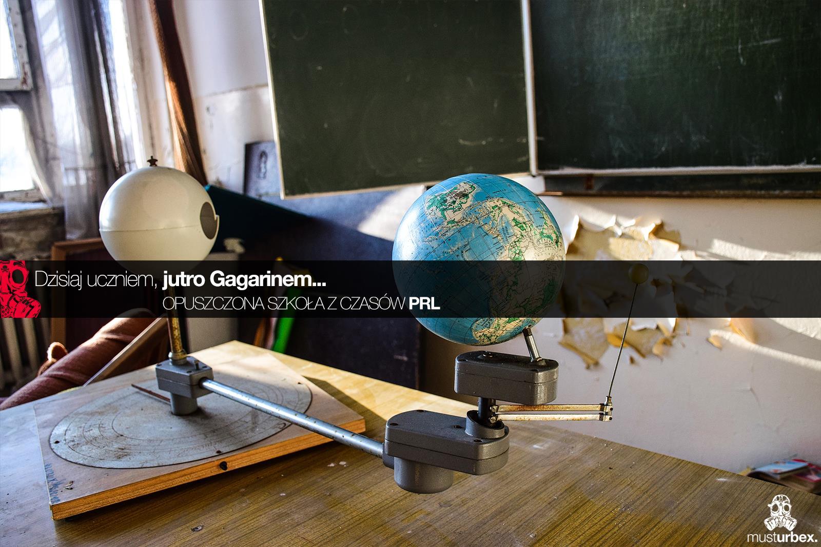 Urbex - Opuszczona szkoła z czasów PRL