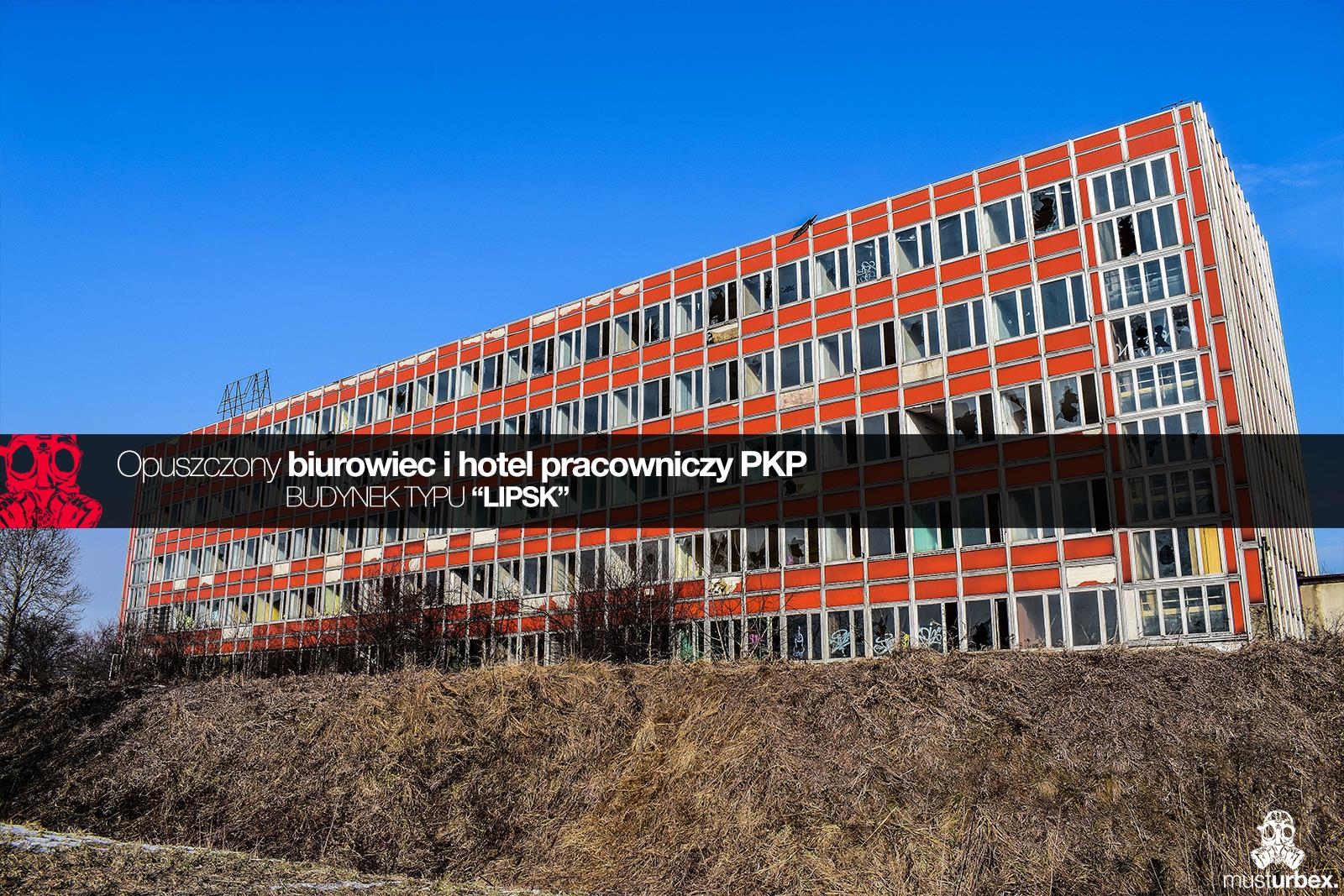 Urbex Biurowiec PKP Opuszczony hotel pracowniczy PKP