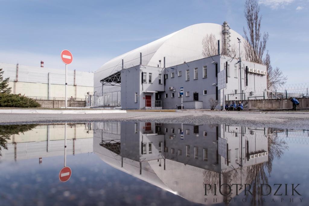 Piotr Dzik Fotografia Reaktor Elektrownia Atomowa odbicie Strefa Zero