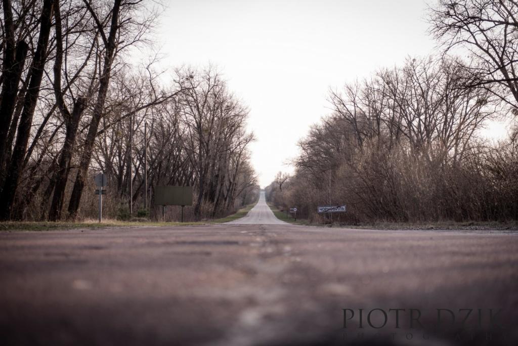 Piotr Dzik Fotografia Czarnobyl droga