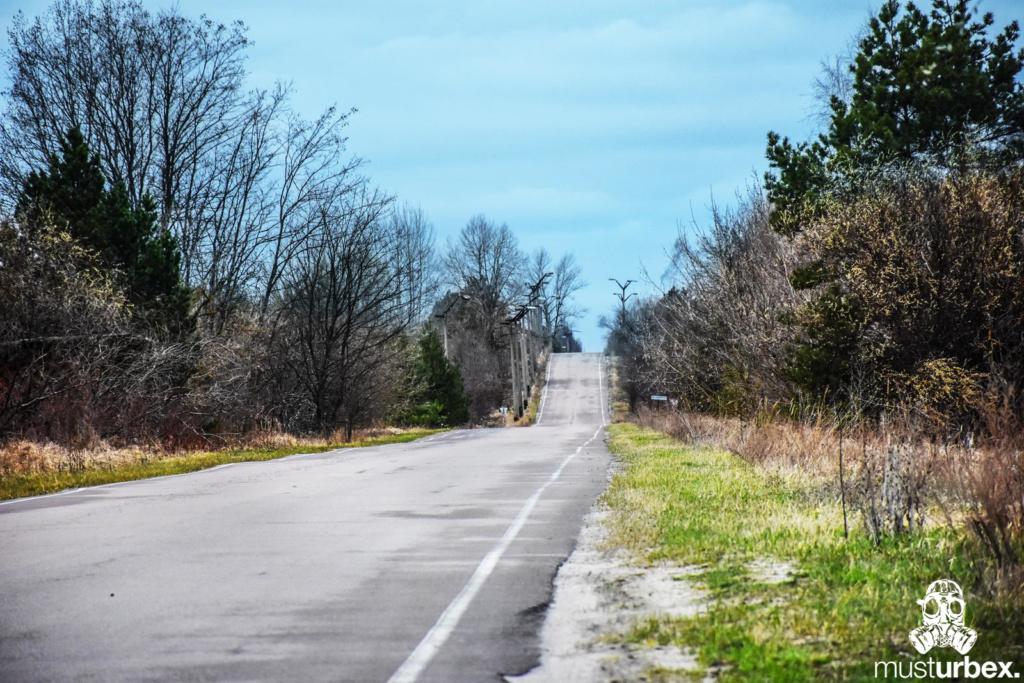 Droga Czarnobyl autokary ewakuacja