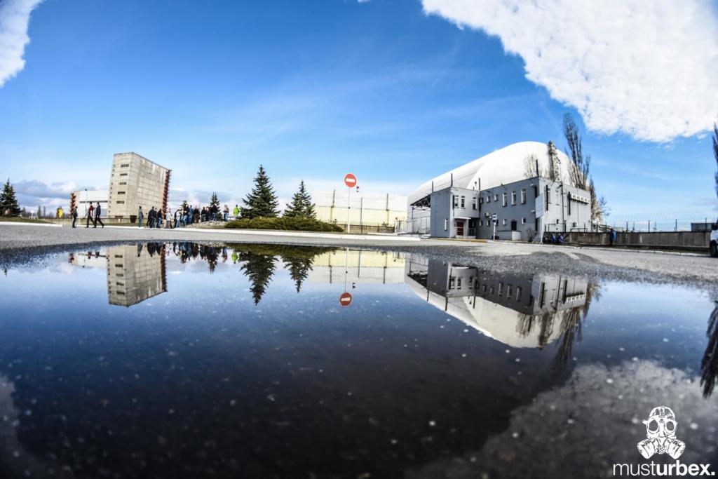 Katastrofa elektrowni atomowej w Czarnobylu wypadek jądrowyreaktor nr 4 sarkofag nowa Arka