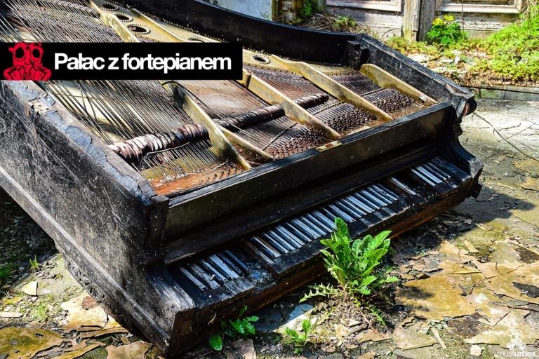 Pałac z fortepianem urbex musturbex biosfera