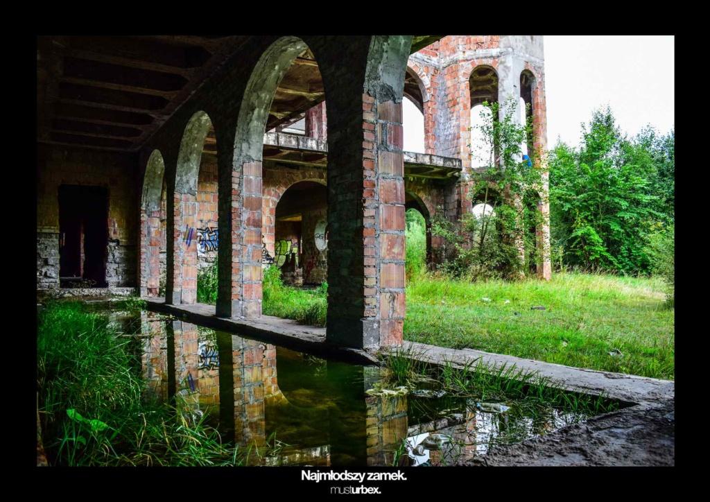 URBEX w Fotografii III URBEX wystawa URBEX FOTO URBEX photo najmłodszy zamek w Polsce URBEX biosphere