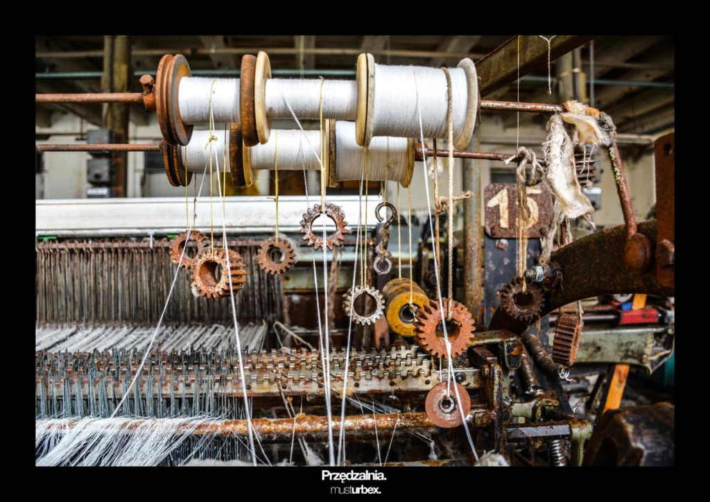 URBEX w Fotografii III URBEX wystawa URBEX FOTO URBEX photo opuszczona przędzalnia urbex spinning mill