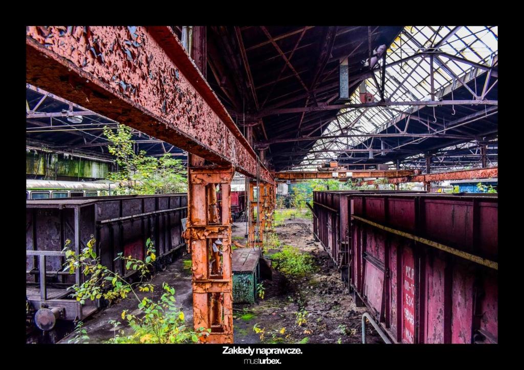 URBEX w Fotografii III URBEX wystawa URBEX FOTO URBEX photo opuszczone kolejowe zakłady naprawcze biosphere decay