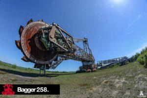 Koparka Bagger 258